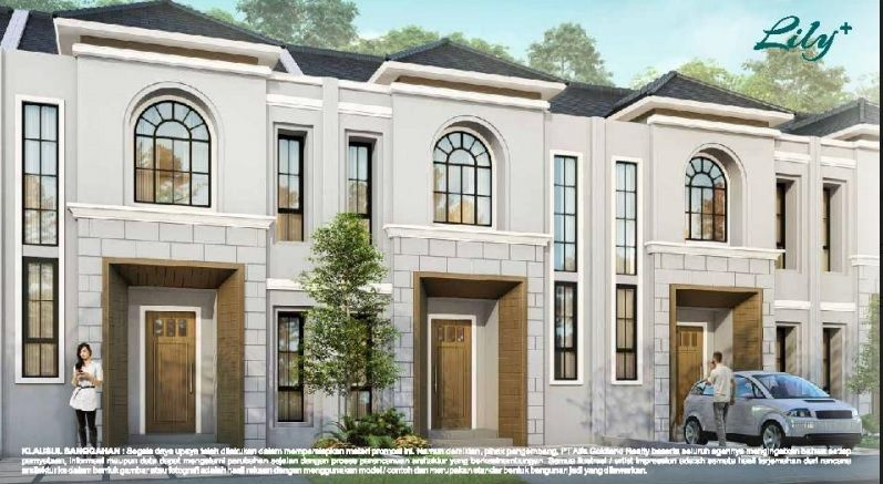 Rumah baru Type Lily , Sutera Feronia Park Alam Sutera