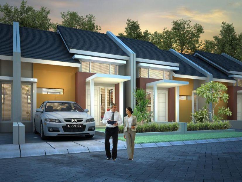 Rumah Dijual Harga Santai DP 0 di Arfa Green Cluster Serang