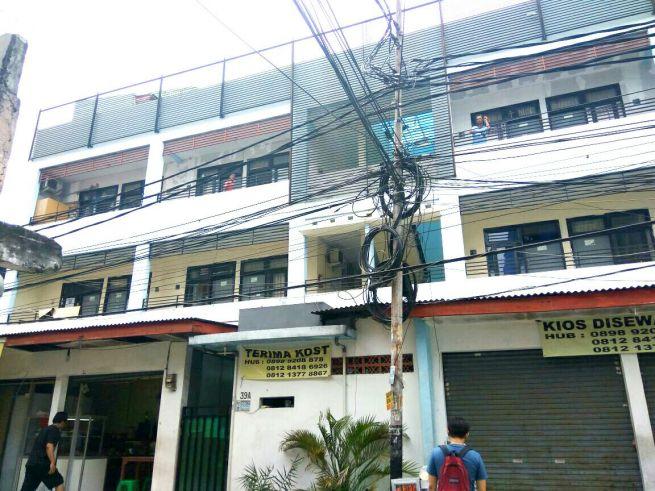 shm jual rumah kostan area palmerah kemanggisan strategis dekat binus