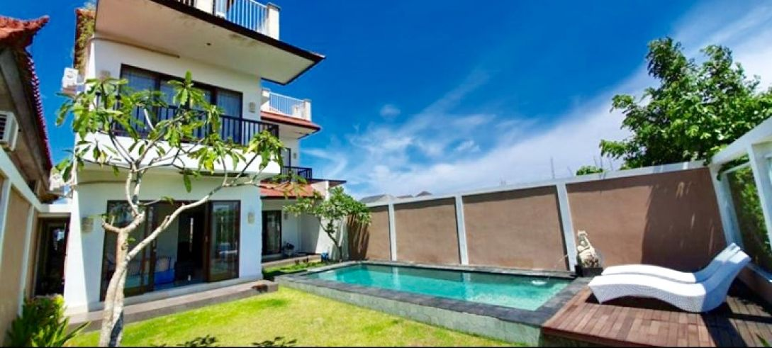 for sale id ys-69 villa di ungasan jimbaran kuta bali near gwk pandawa beach nusa dua