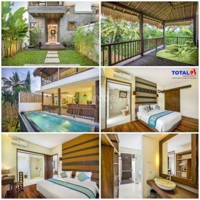 Villa Disewa Dengan 3 Kamar Tidur Di Ubud Bali