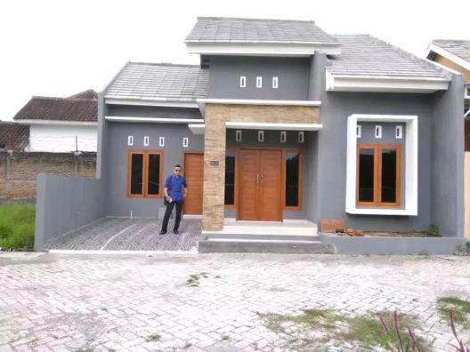 Rumah minimalis sederhana type 54