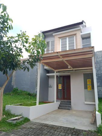 disewakan rumah baru 2 lantai di jasmine valley araya