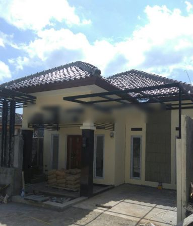 rumah baru nuansa villa di kota bogor