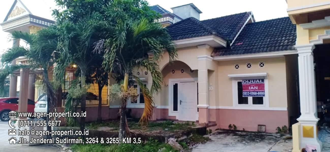 Rumah Minimalis 2 Lantai Di Palembang  dijual rumah siap huni di komplek kenten gardena 1 jln sako