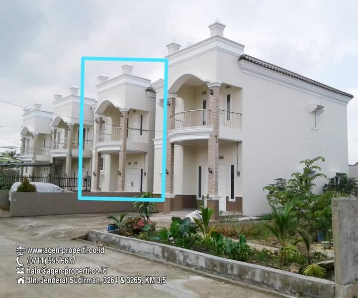 Rumah Minimalis 2 Lantai Di Palembang  dijual 1 unit townhouse jln tembok baru depan universitas
