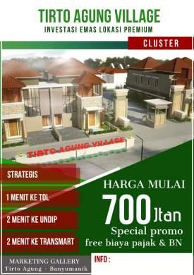 Tirto Agung Village Rumah Eksklusif Dekat Undip Tembalang Semarang