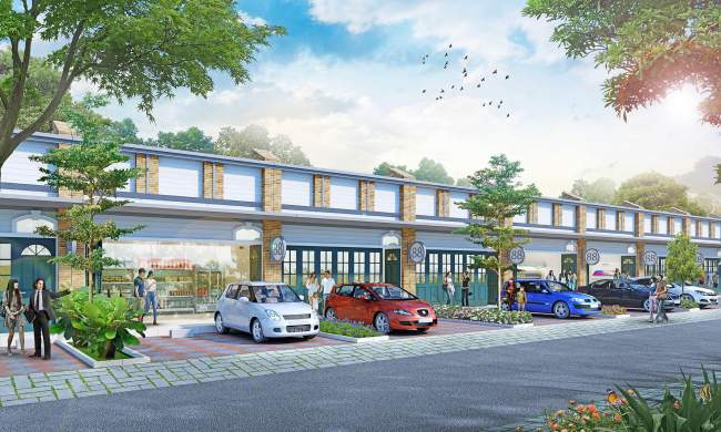 Ruko New Garden Ville Jababeka 1 Lantai Dengan Tanah Luas