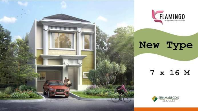 Flamingo Tahap 2 Rumah Mewah Terbaru Di Gading Serpong
