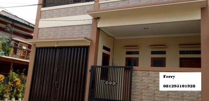 Rumah Dijual Di Cipondoh Makmur Kota Tangerang Lamudi
