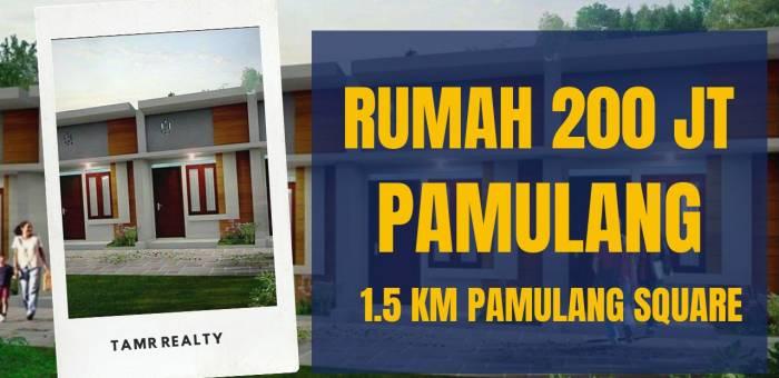 Rumah Murah Di Tangerang Selatan Di Bawah 200 Juta Lamudi