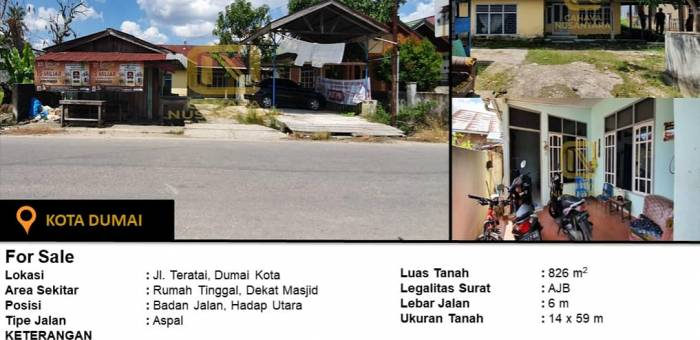Properti Dijual Di Ujung Tanjung Kota Rokan Hilir Lamudi
