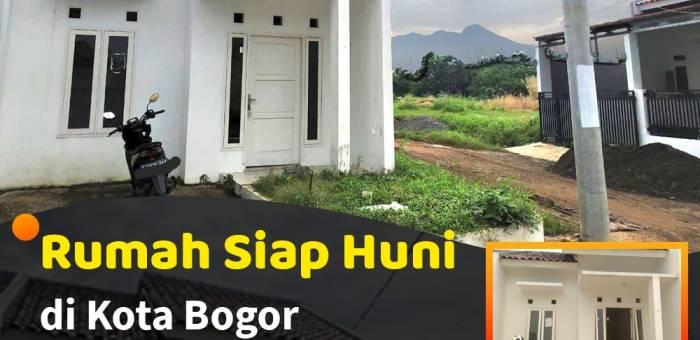 Rumah Dijual Di Cilendek Barat Kota Bogor Lamudi